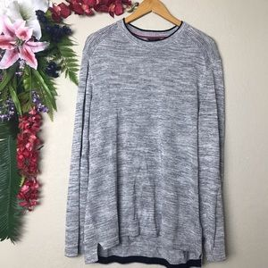 Ted Baker London Crewneck Long Sleeve Sweater